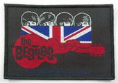 The Beatles - 'Knotted Guitar' Woven Patch